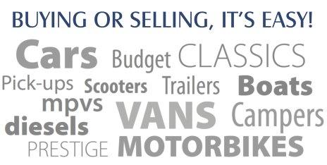 Cars, Vans, Motorbikes, Campers, Diesels, Boats & more