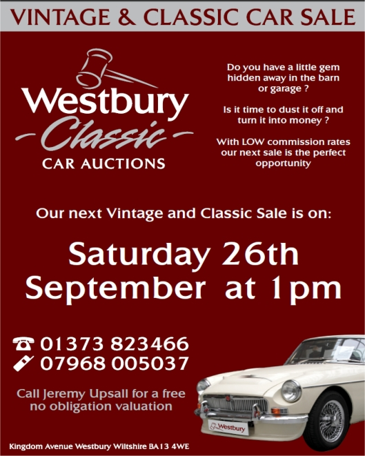 Wesbury Classic Car Auction