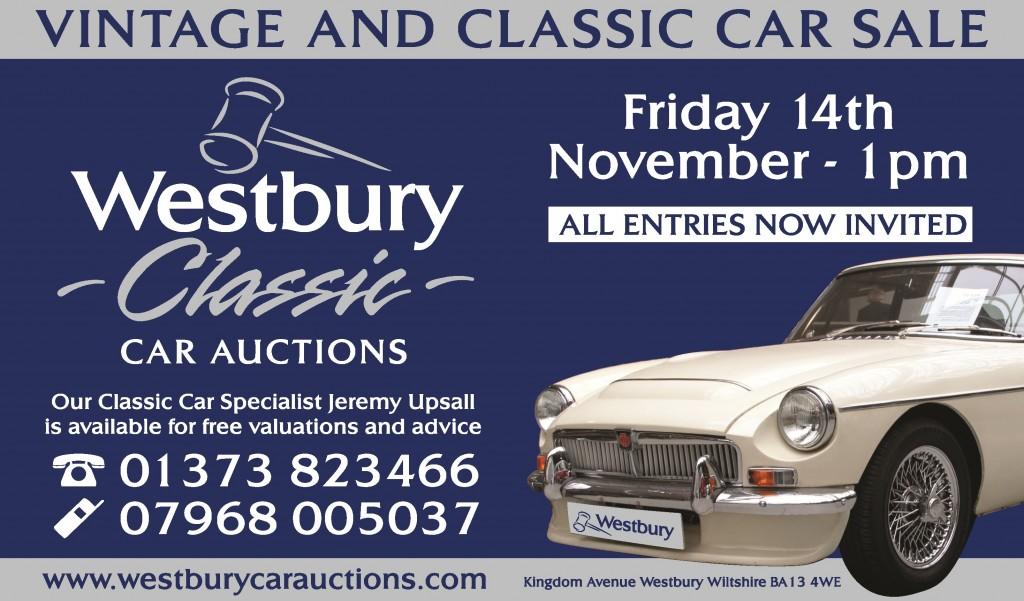 Westbury Classic Car Auctions